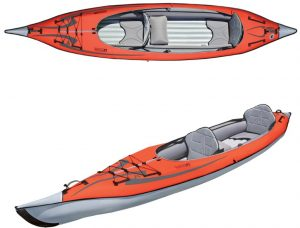 Advanced Elements AdvancedFrame Inflatable Tandem Kayak