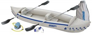 Sea eagle SE370 inflatable kayak deluxe package
