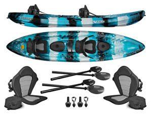 Vibe Kayaks Skipjack 120T Tandem Kayak