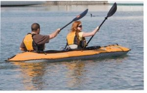 How Do You Steer A Tandem Kayak?
