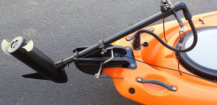 trolling motors on kayaks