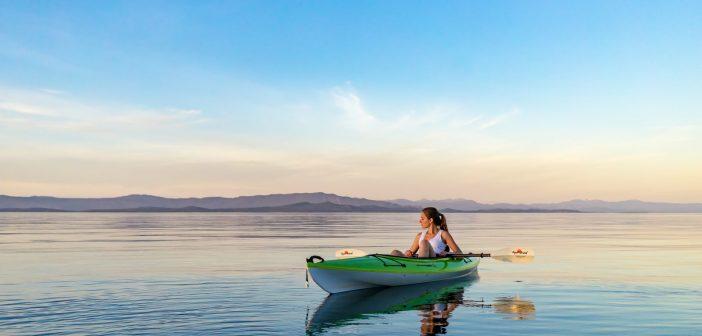 tandem kayak solo