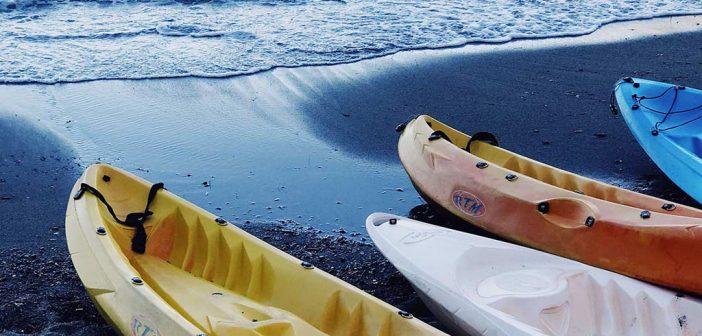 Tandem kayak child seat